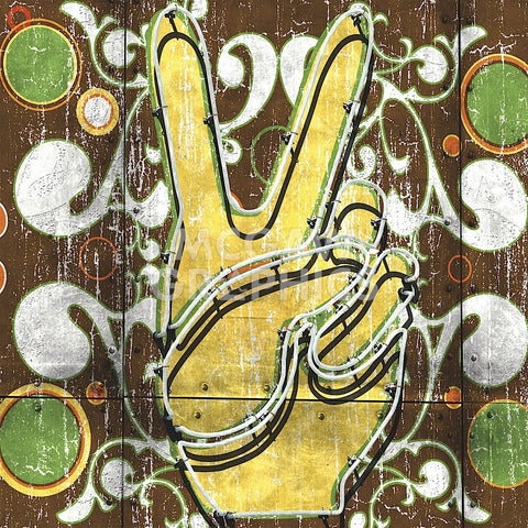 Peace 1 (hand) -  Anthony & Nancci Ross - McGaw Graphics