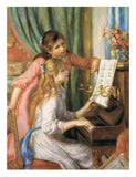 Two Young Girls at the Piano -  Pierre-Auguste Renoir - McGaw Graphics