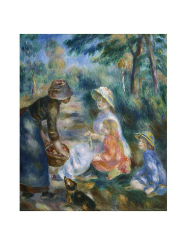 The Apple Seller, c.1890 -  Pierre-Auguste Renoir - McGaw Graphics
