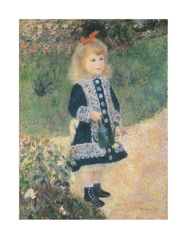 Girl with Watering Can -  Pierre-Auguste Renoir - McGaw Graphics