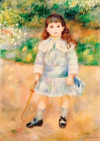 Pierre-Auguste Renoir - Girl with a Whip, 1885