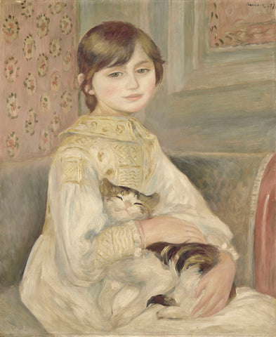 Julie Manet, 1887 -  Pierre-Auguste Renoir - McGaw Graphics
