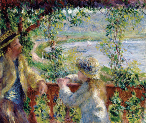 Pierre-Auguste Renoir - By the Water, ca. 1880