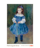 Girl with a Jump Rope (Portrait of Delphine Legrand), 1876 -  Pierre-Auguste Renoir - McGaw Graphics