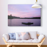 Pink Sunset Adirondacks -  Erik Richards - McGaw Graphics