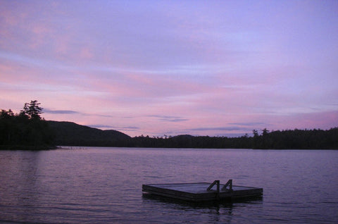 Erik Richards - Pink Sunset Adirondacks