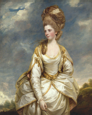 Sarah Campbell, 1777 to 1778 -  Sir Joshua Reynolds - McGaw Graphics