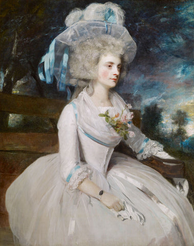 Selina, Lady Skipwith, 1787 -  Sir Joshua Reynolds - McGaw Graphics