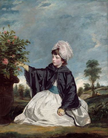 Lady Caroline Howard, 1778 -  Sir Joshua Reynolds - McGaw Graphics