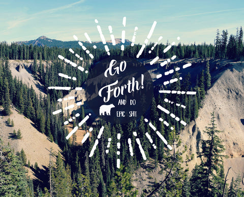 Go Forth -  R Delean Designs - McGaw Graphics