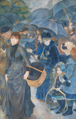 The Umbrellas, ca. 1881-86 -  Pierre-Auguste Renoir - McGaw Graphics