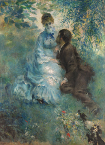 Lovers, 1875 -  Pierre-Auguste Renoir - McGaw Graphics