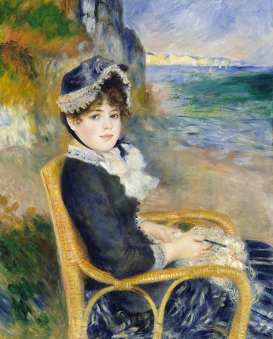 By the Seashore, 1883 -  Pierre-Auguste Renoir - McGaw Graphics
