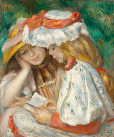 Two Girls Reading, 1890
