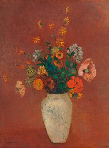 Bouquet in a Chinese Vase, ca. 1912–14