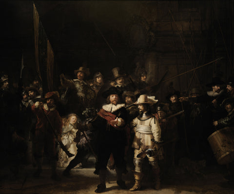 The Night Watch, 1642 -  Rembrandt - McGaw Graphics