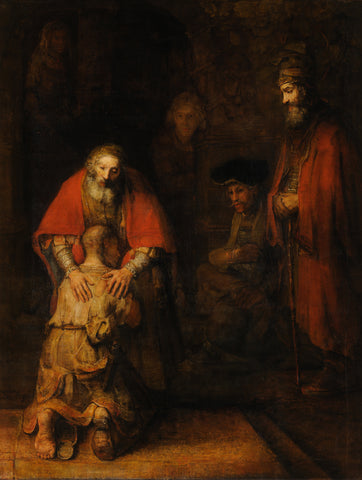 The Return of the Prodigal Son, circa 1668 -  Rembrandt - McGaw Graphics