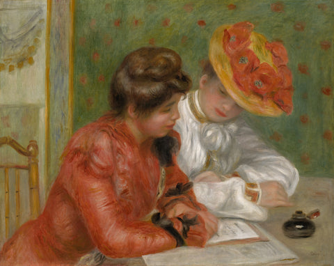 The Letter, c. 1895-1900 -  Pierre-Auguste Renoir - McGaw Graphics
