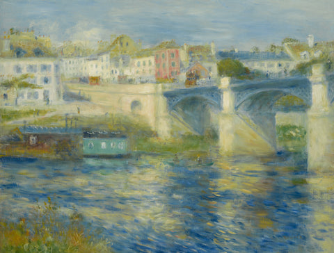 Bridge at Chatou, c. 1875 -  Pierre-Auguste Renoir - McGaw Graphics