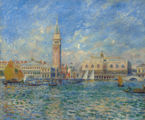 Venice, the Doge's Palace, 1881