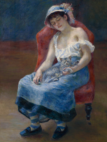 Sleeping Girl, 1880