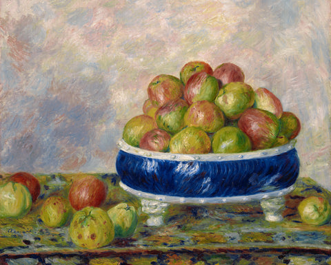 Apples in a Dish, 1883 -  Pierre-Auguste Renoir - McGaw Graphics
