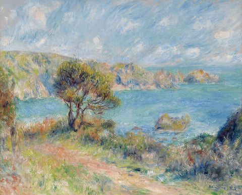 View at Guernsey, 1883 -  Pierre-Auguste Renoir - McGaw Graphics
