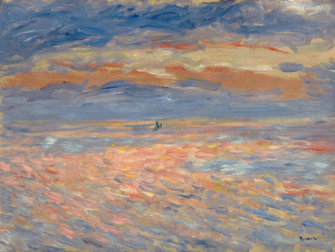 Sunset, 1879 or 1881