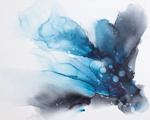 Alissa Rosenberg - Ink Blue Fan