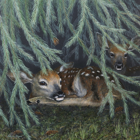 Under the Tree -  Valerie Rogers - McGaw Graphics