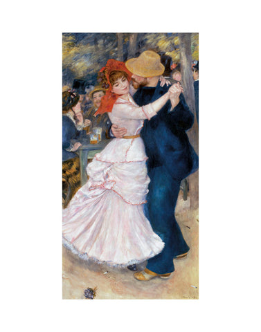 Dance at Bougival -  Pierre-Auguste Renoir - McGaw Graphics
