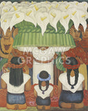 Flower Festival: Feast of Santa Anita, 1931 -  Diego Rivera - McGaw Graphics