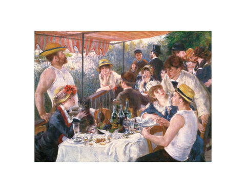 Luncheon of the Boating Party -  Pierre-Auguste Renoir - McGaw Graphics
