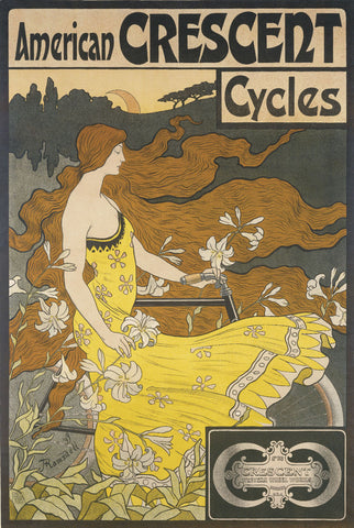 American Crescent Cycles -  Fred Winthrop Ramsdell - McGaw Graphics