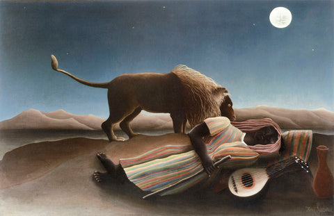 The Sleeping Gypsy -  Henri Rousseau - McGaw Graphics