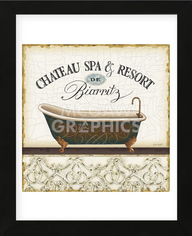 Spa & Resort I (Framed) -  Lisa Audit - McGaw Graphics