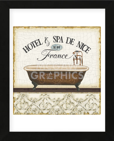 Spa & Resort II (Framed) -  Lisa Audit - McGaw Graphics