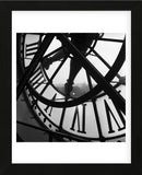 Orsay Clock (Framed) -  Tom Artin - McGaw Graphics
