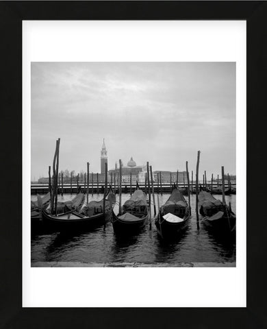 Gondolas (Framed) -  Tom Artin - McGaw Graphics