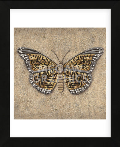 Tiger Butterfly  (Framed) -  Jennette Brice - McGaw Graphics