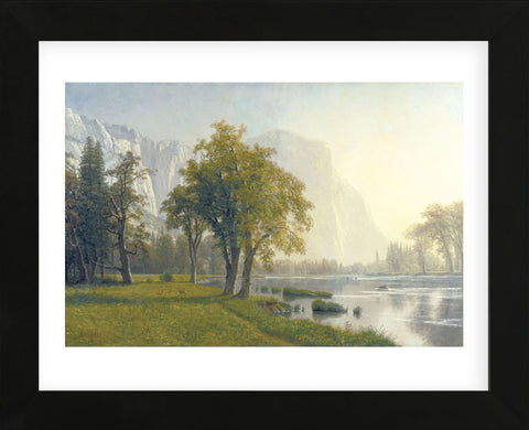 Albert Bierstadt - El Capitan, Yosemite Valley, California, 1875