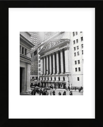 Bull Market  (Framed) -  Vintage Photography - McGaw Graphics