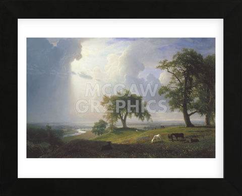 California Spring, 1875  (Framed) -  Albert Bierstadt - McGaw Graphics