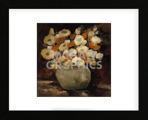Apricot Poppies  (Framed) -  Onan Balin - McGaw Graphics
