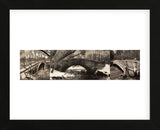 Central Park Bridges (tryptych) (Framed) -  Chris Bliss - McGaw Graphics