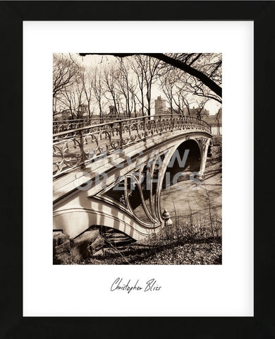 Central Park Bridges 3 (Framed) -  Chris Bliss - McGaw Graphics