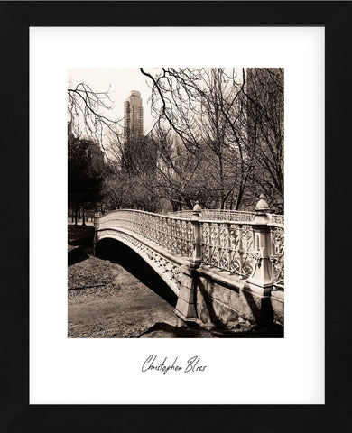 Central Park Bridges 2 (Framed) -  Chris Bliss - McGaw Graphics