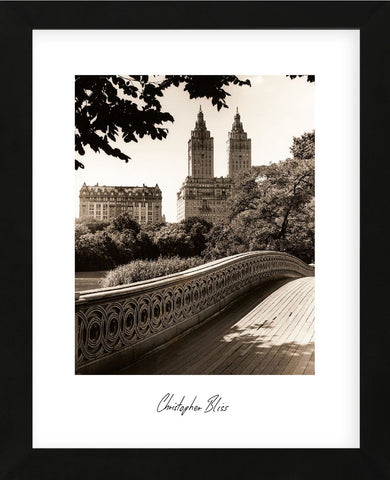 Central Park Bridges 1 (Framed) -  Chris Bliss - McGaw Graphics