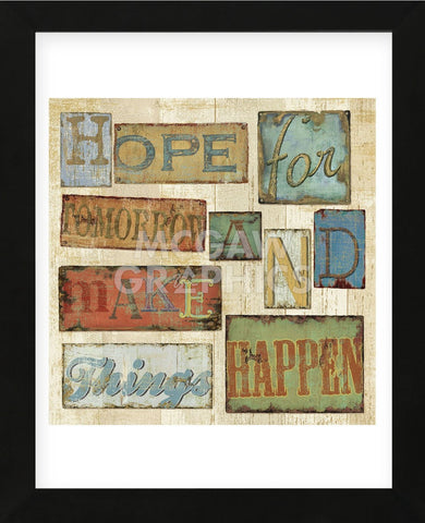 Believe & Hope II (Framed) -  Daphné B - McGaw Graphics