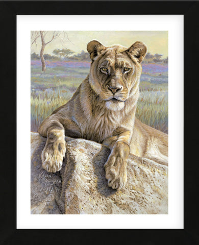 Serengeti Lioness  (Framed) -  Kalon Baughan - McGaw Graphics